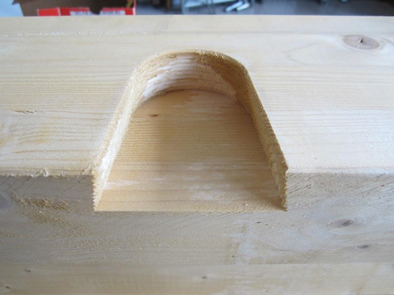 Nessuna, legno grezzo