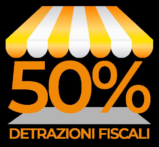 DETRAZIONE DEL 50%  PER TUTTO IL 2020