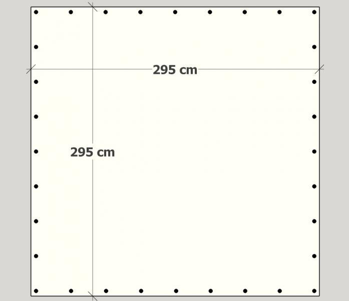 300 cm x 300 cm