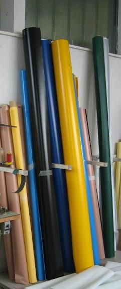 Pezze PVC grezze